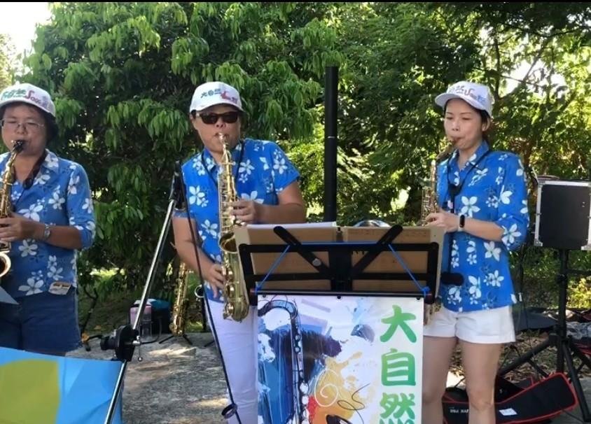 2020/08/23 夏音蟬鳴~夏季小願音樂會-大自然SAX樂團